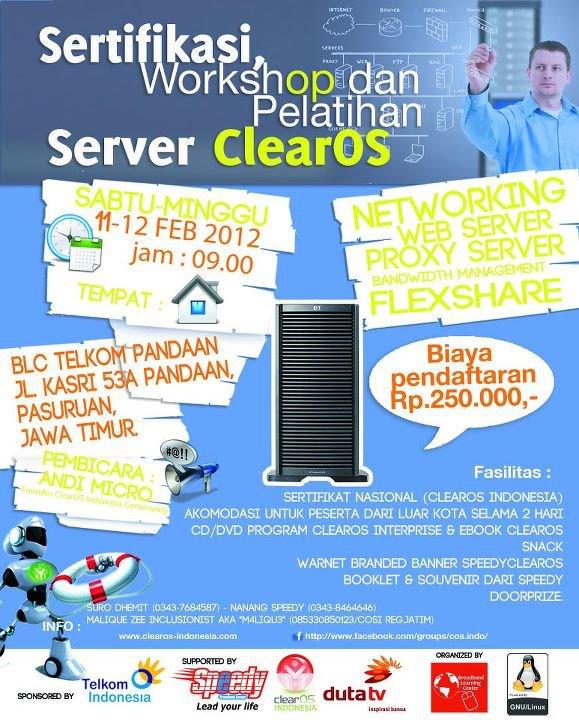 seminar ClearOS Pandaan