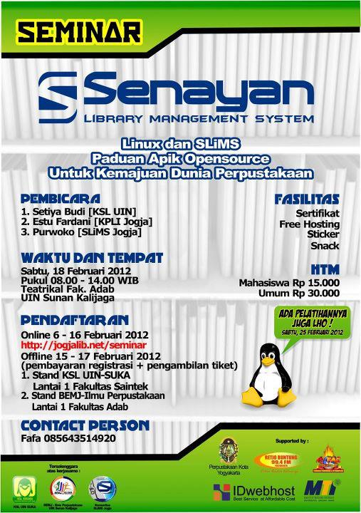 senayan library management system