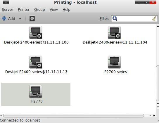 tipe printer