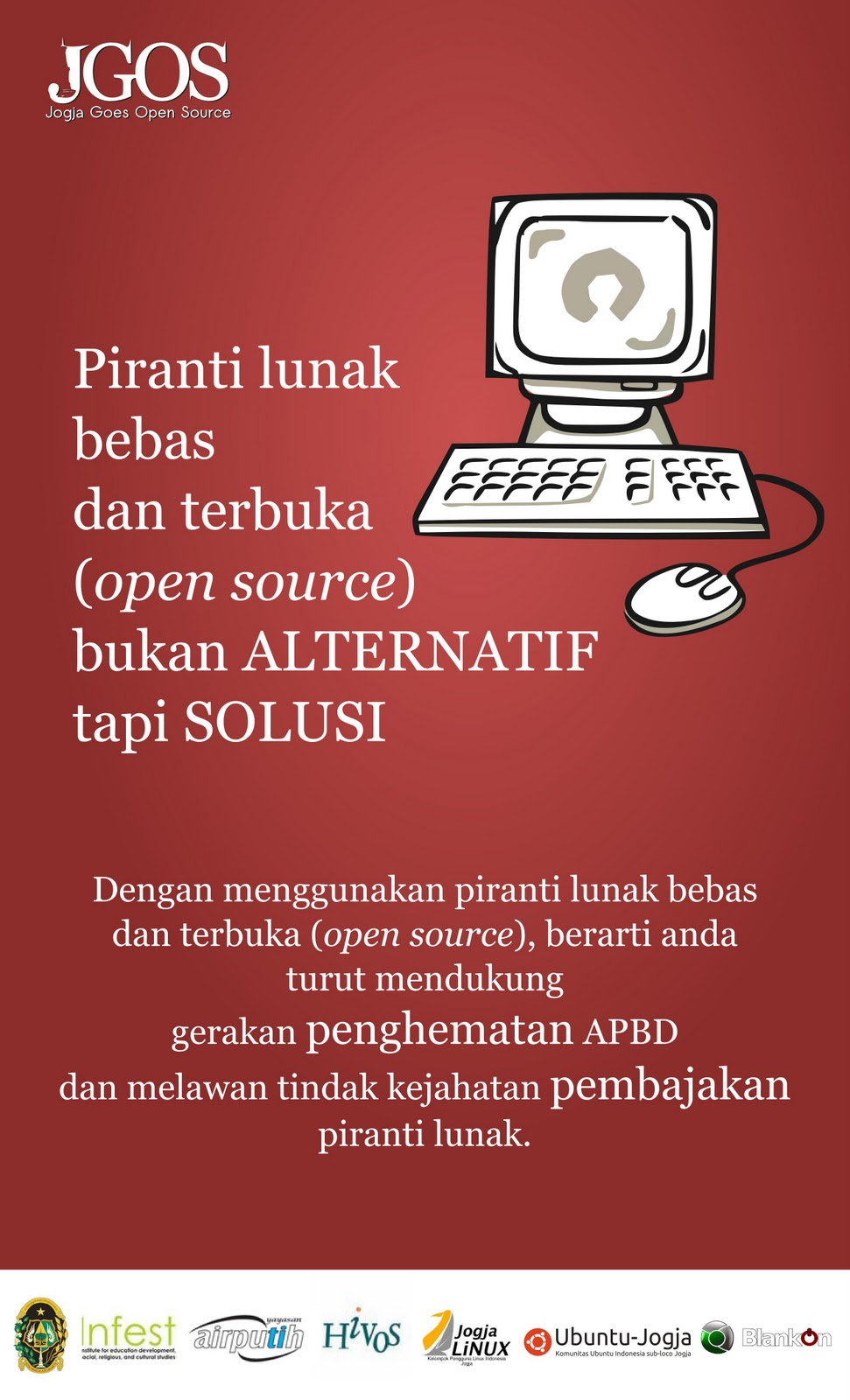 Kampanye Jogja Goes Open Source #JGOS