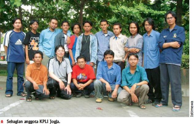 Pengurus KPLI Jogja 2004