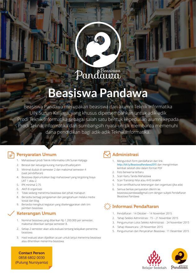 PosterBeasiswaPandawa